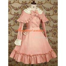 Free Shipping Gothic Lolita Punk Fashion Dress Cape Cosplay Costume Tailor-made