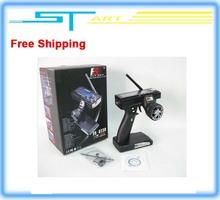 Free Shipping Flysky fs gt3b FS-GT3B 2.4G 3ch RC System Gun remote control transmitter & receiver For RC Car Boat high quality