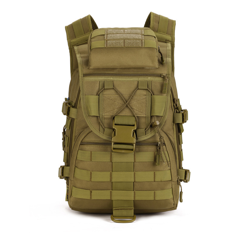 40L Waterproof Molle Backpacks Outdoors Camping Bags Military 3P Tactical Backpack Assault Nylon Travel Bag for Men Women  J12<br>