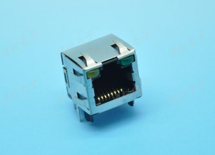 Supply AMP TYCO network connector 8P8C Model : 1116173-1 RJ45 Ethernet port socket(China (Mainland))