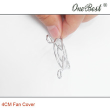 100Pcs lot 4CM Fan cover AC DC 4010 4020 4028 4038 Fan finger guard for 3D