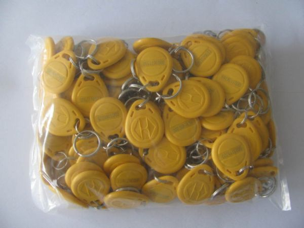 Color EM4100 125Khz Keyfobs RFID Proximity ID Card Token Tags Key for Access Control Time Attendance(China (Mainland))