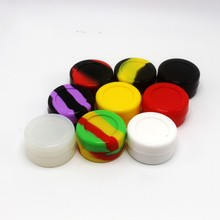 Silicone Container 7ml Non-stick Silicone Jar Wax Container For Oil Storage Container Jar 100pcs/lot(China (Mainland))