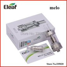 Auténtico Eleaf MELO atomizador 3.5 ml capacidad del vidrio de Pyrex Rebuildable flujo de aire ajustable 510 hilo MELO tanque para iStick 30 W