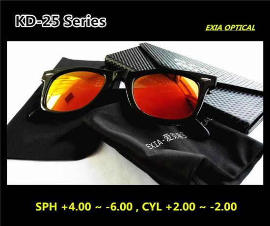 Sunglasses Prescription Polarized REVO Mirror LensKD-25 Series(China (Mainland))