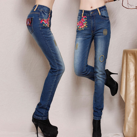 popular women cargo jeans buy cheap women cargo jeans lots from china women cargo jeans. Black Bedroom Furniture Sets. Home Design Ideas