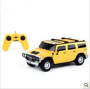1:26 Hummer H2 SUV rc car model toy , children remote control car , electric vehicles toys , kids birthday gift + free shipping