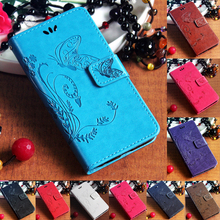 Sony Xperia C5 Ultra E5553 E5506 E5563 Flip Stand PU leather Strap String Phone Case Butterfly Magnetic Wallet Bag Gel Cover - JRD Tech Store store