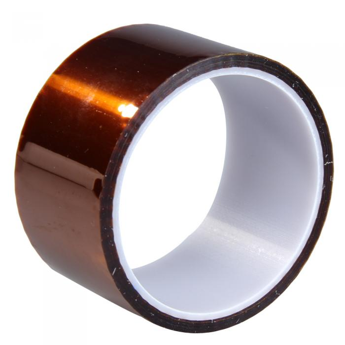 High Temperature Resistance Tapes 50mm x 27m Tawny Heat Resistant High Insulation Polyimide Adhesive Tape Accessories  AA