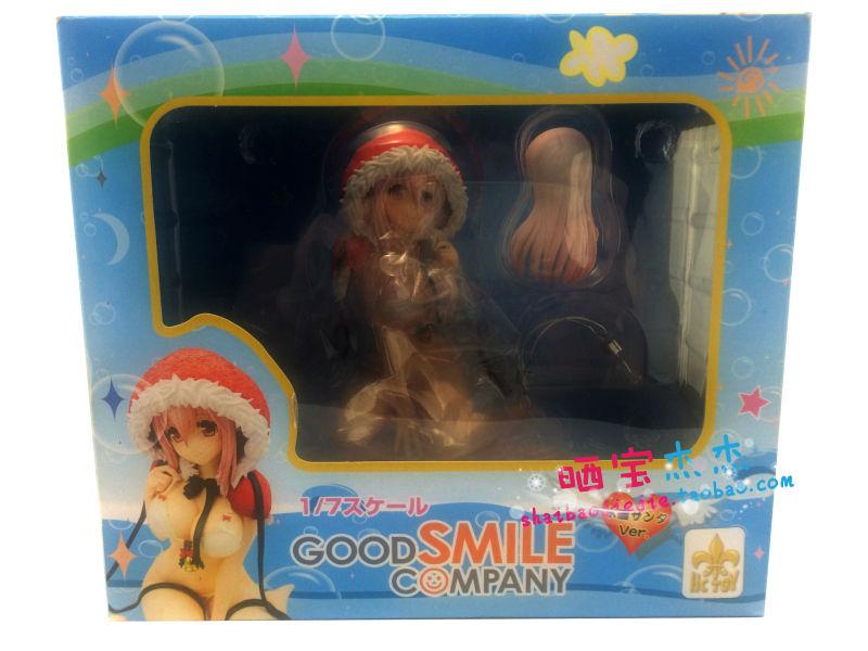 "Free Shipping FS Hc Toy GoodSmile Good Smile Super Sonico Bikini Swim Suit Sexy 5.1"" Figure NIB action figure puppet doll gift(China (Mainland))"