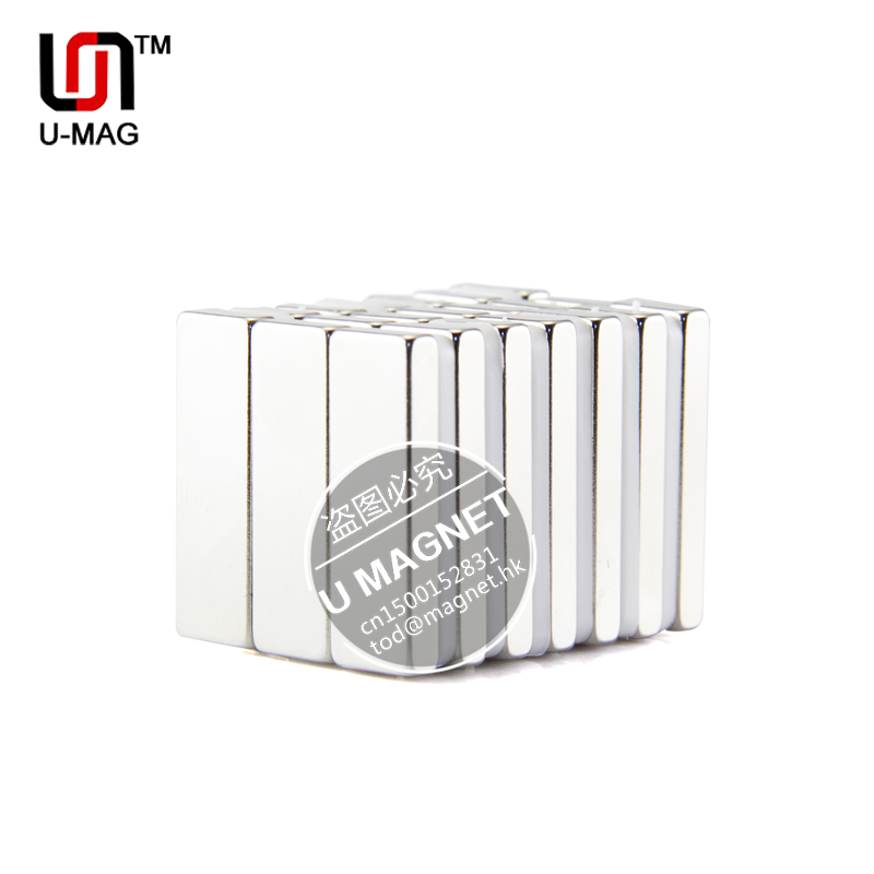 Гаджет  5pcs Strong Magnets L30x10x4mm N35 Neodymium Magnet Rare Earth Bar Magnet None Строительство и Недвижимость