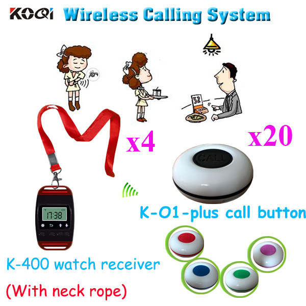 online buy whole most durable watch from most durable waiter calling system most s durable pager transmitters for restaurant 4pcs watch 20pcs call