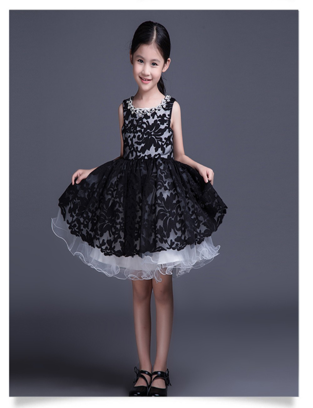 little girl black and white dresses - Kjpwg.com
