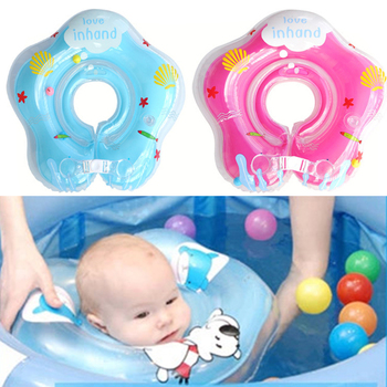 2016 Hot Sale Baby Swimming Inflatable Neck Float Ring Swimming Circle Kids Infant Safety Swimming Float Accessories piscine