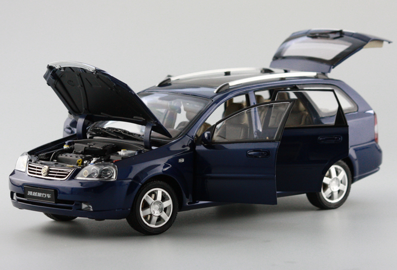 1/18 Diecast For GM BUICK Excelle Wagon Touring Car Model Blue Car Styling Toy Best Gift(China (Mainland))