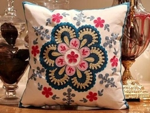embroidered Decorative Cushion Covers