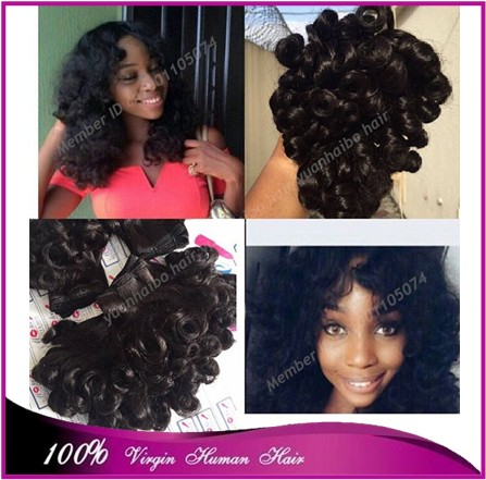 Best selling Quality 7A 1b# russian bouncy curl fullness hair aunty funmi hair weft for black women 3pcs/lot free shipping<br><br>Aliexpress