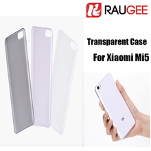 100% Original For Xiaomi M5 TPU Case Official 0.4MM Transparent Back Cover Case For XiaoMi Mi5 Smart Phone+In Stock(China (Mainland))