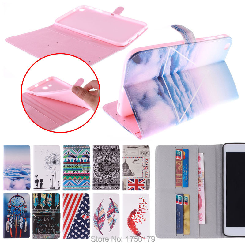 Гаджет  Color Mix Magnetic Cover Silicon Leather Case for Samsung Galaxy Tab 3 8.0 T310 T311 T315 Tablet Stand Design with Card Holder None Компьютер & сеть