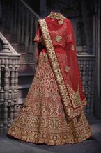 Embroidered Wedding Traditional indian clothing Salwar kameez(China (Mainland))