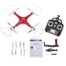 HT F801C 6-Axis Gyro 2.4G 4CH FPV RC Quadcopter wifi Drone with 1.0MP Camera professional drones toys for kids