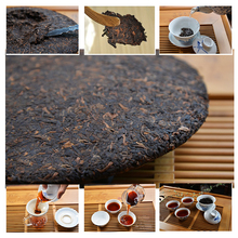 357g premium 40 years old Chinese yunnan puer tea pu er puerh China slimming green food health care - Tea family store