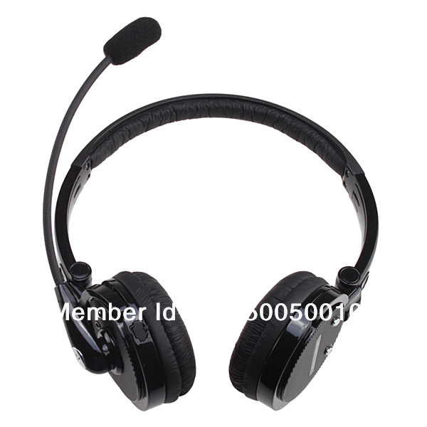 Nosie Canceling Bluetooth Headset Wireless Handsfree Headphone for PC PS3 Skype Cellphone for iPhone 4S and other Free shipping(China (Mainland))