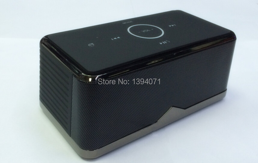 Professtional Bluetooth speaker BE-8 NFC control two high soud one bass(China (Mainland))