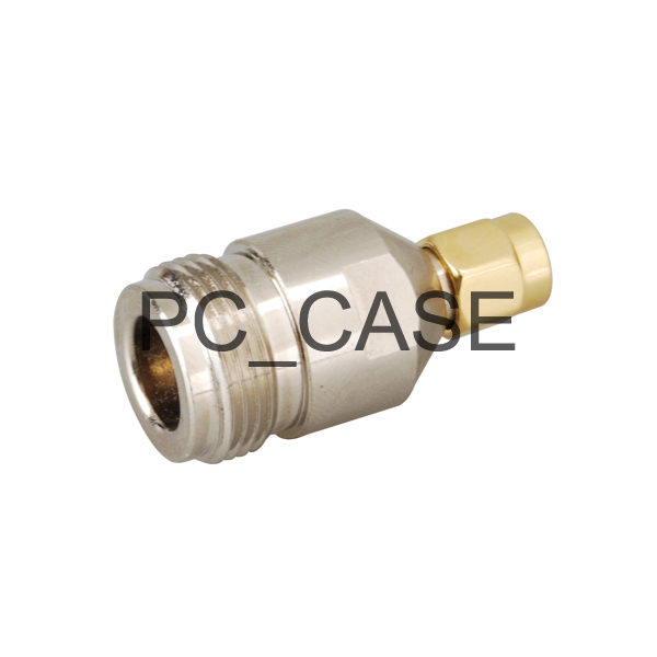 RF N-SMA adapter electrical wire terminal connector N jack to SMA plug straight for wireless antenna(China (Mainland))
