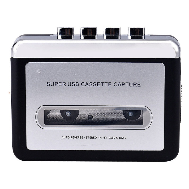 Beautiful Gift New Tape to PC Super USB Cassette-to-MP3 Converter Capture Audio Music Player Free Shipping May25(China (Mainland))