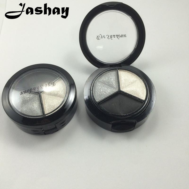 Jashay Smoky cosmetic set 3 colors professional natural glitter eyeshadow makeup eye shadow palette Naked Nude Eye Shadow