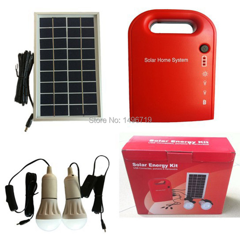 New 9V 3W mini portable solar home system solar dynamotor for home use, mobile charger power bank solar panel(China (Mainland))