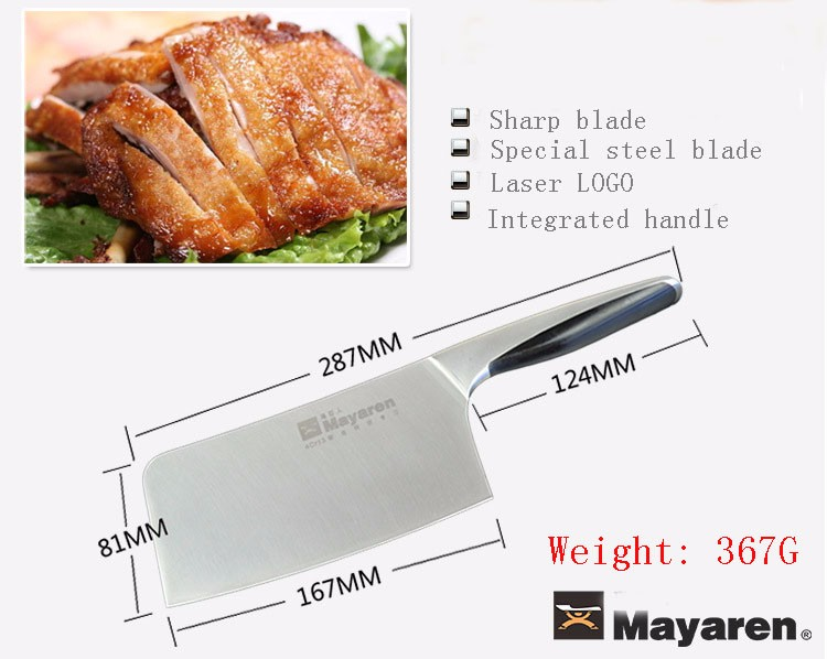 Buy LD Brand Thickening Forged Kitchen Chef Chop Bone Knife Household Multifunctional Cut Bone Cleaver Cooking Knives Kitchen Tool cheap