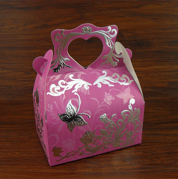 Wedding Favor Boxes For Chocolates : Wedding Favor Flower Butterfly Candy Boxes Chocolates Sweets Box ...