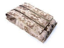 Free shipping In stock FLYYE genuine MOLLE MP5 magazine pouch triple Military camping hiking modular combat CORDURA PH-M010