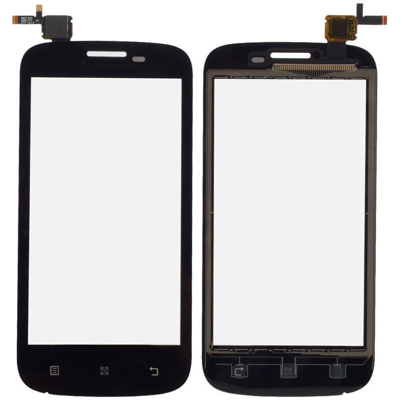 For Lenovo A760 New Front Digitizer Touch Screen Glass Lens Sensor Repair Replacement Parts + Tracking Number.(China (Mainland))