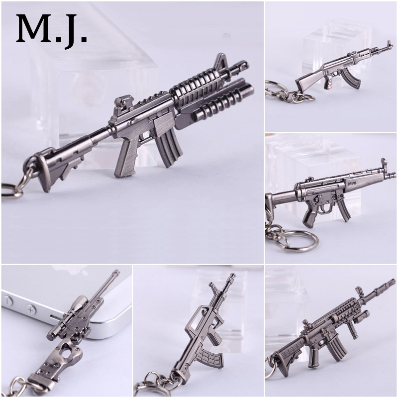 Novelty Items Counter Strike Llaveros AK47 Guns Keychain Sniper Keychain Key ring Chaveiro Jewelry London Souvenirs Gift For Men(China (Mainland))
