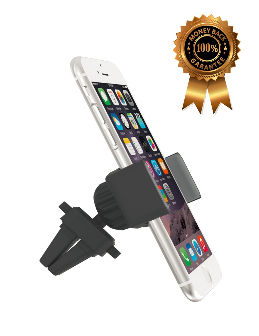 Car Mount, APPS2CAR 360 Degree Universal Holder Air Vent Mount cellphone Dock Mobile Phone Holder for iPhone 6S 5 ,K+-AVS(China (Mainland))