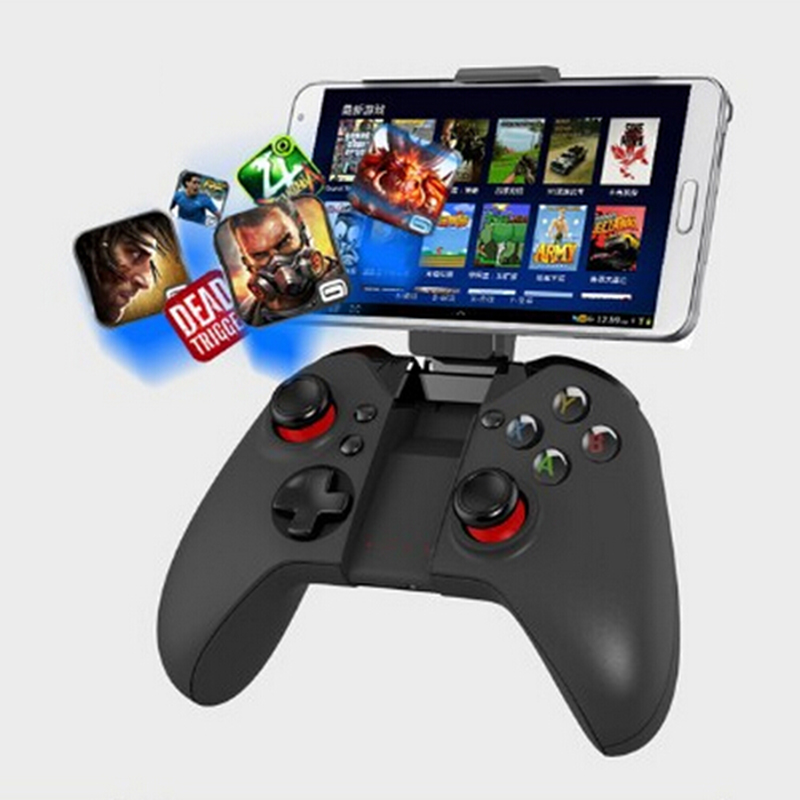 Hot Free Shipping joystick pc gamepad ipega 9037 wireless bluetooth game controller gamepad android for ps3 controller wireless(China (Mainland))