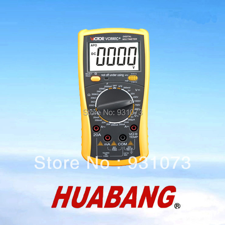 2000uF protection meter case, Temperature measurement with light lock, multimeter(China (Mainland))