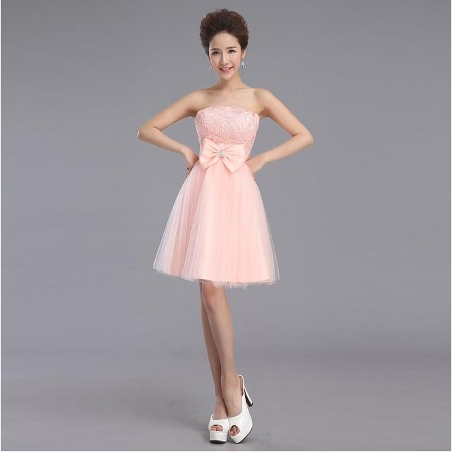 Popular pink corset dress buy cheap pink corset dress lots for Short fluffy wedding dresses