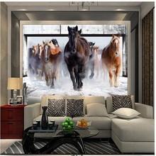 Buy beibehang Horse Racing Custom Photo wallpaper retro sofa restaurant background 3d 3d wallpaper mural wall paper home decor for $16.20 in AliExpress store