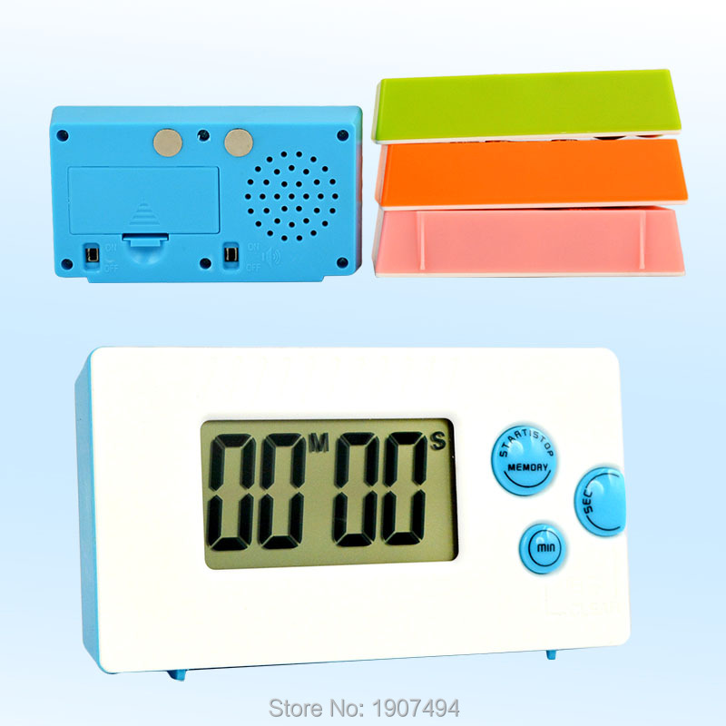 Digital Timer LCD Count Down Kitchen Alarm Clock Up Large Loud Cooking(China (Mainland))