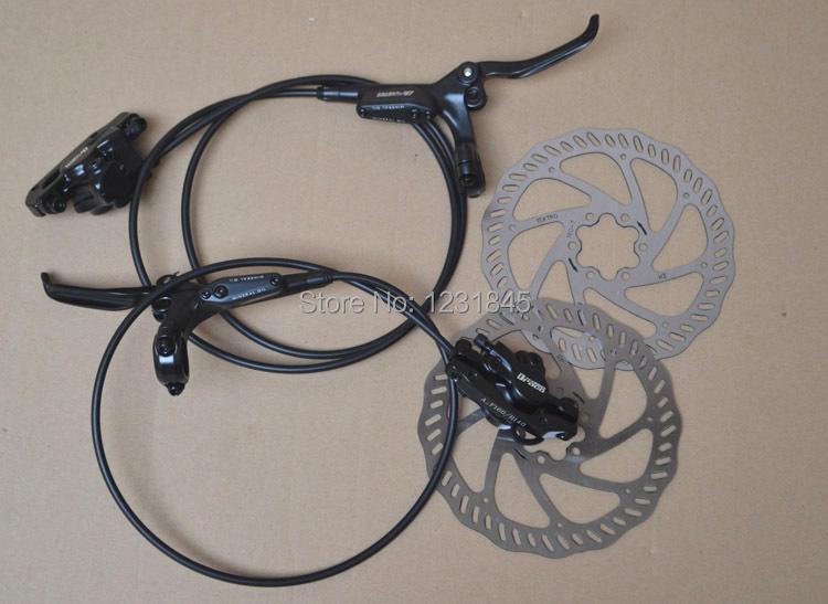 For Yanhao draco dish oil hydraulic disc brake HD-M350 160mm disc bike mountain bike brake system bicycle brake free shipping(China (Mainland))