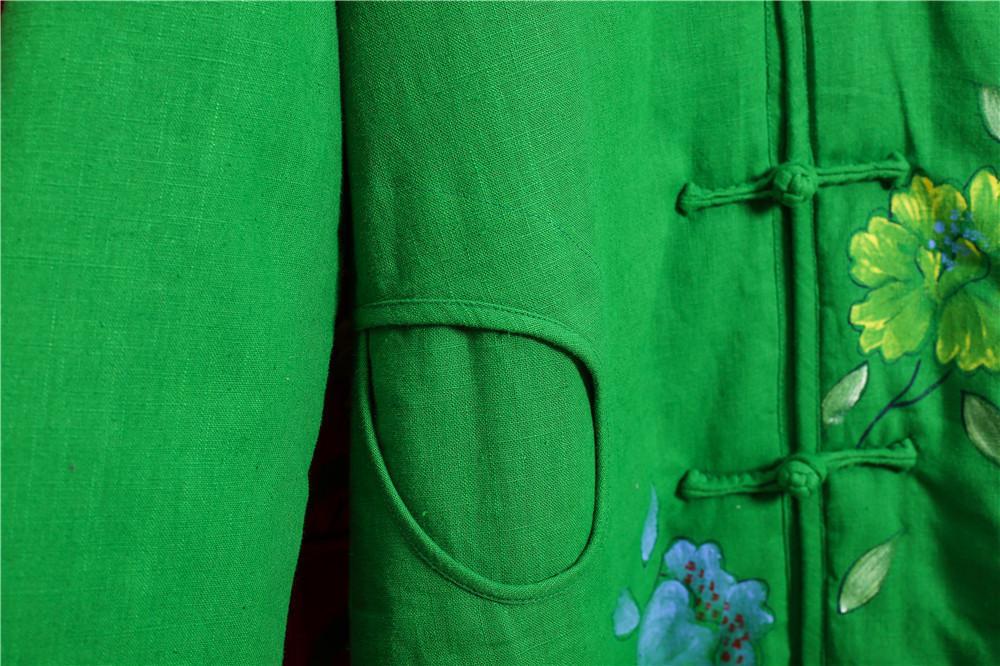Скидки на 2015 Зимнее Пальто Женщин Вниз Куртки Толстый Длинный Хлопок-Проложенный Одежды от руки 2 Цвета с капюшоном Пальто Парки Повседневная Куртка ватные