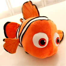 "Finding Nemo 1pcs 9"" 23cm Movie Cute Clown Fish Stuffed Animal Soft Plush Toy Plush Doll Baby Toy Free Shipping(China (Mainland))"