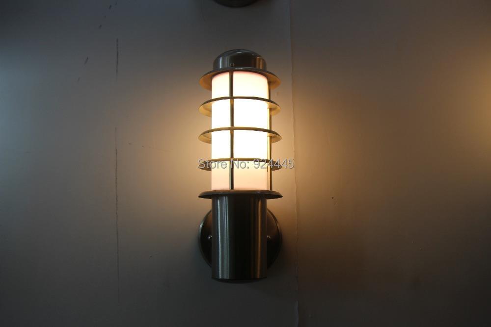 Free Shipping Outdoor garden wall light Stainless steel wall lamp waterproof villa balcony light <br><br>Aliexpress