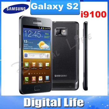 "SII Original Samsung Galaxy S2 i9100 Korean Version Dual Core 3G GPS WIFI 8MP 4.3""Touch Screen Android Mobile Phone Refurbished"