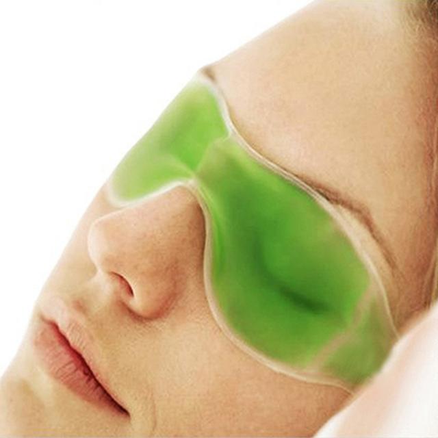 Летом существенно красота лед очки удалить темные круги облегчить усталость глаз гель глаз маски цвет случайный HB-0192-Random