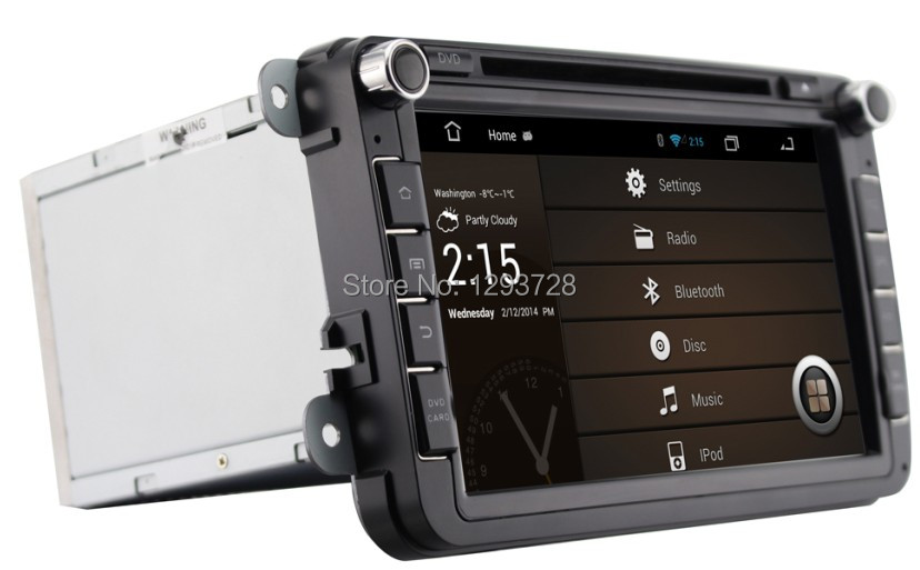 Volkswagen android quad core/car dvd vw android/car multimedia station vw golf(China (Mainland))